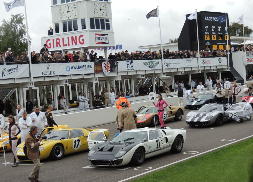 2013 International Goodwood Ford GT40 au Depart