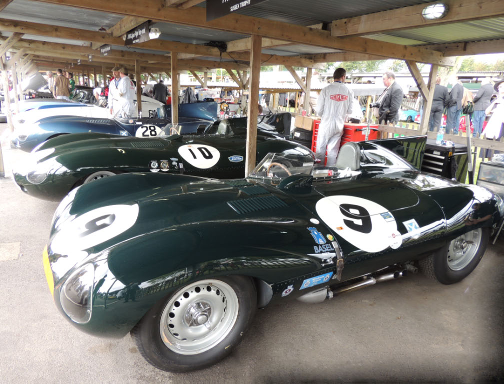 2013 International Goodwood Stand Jaguar