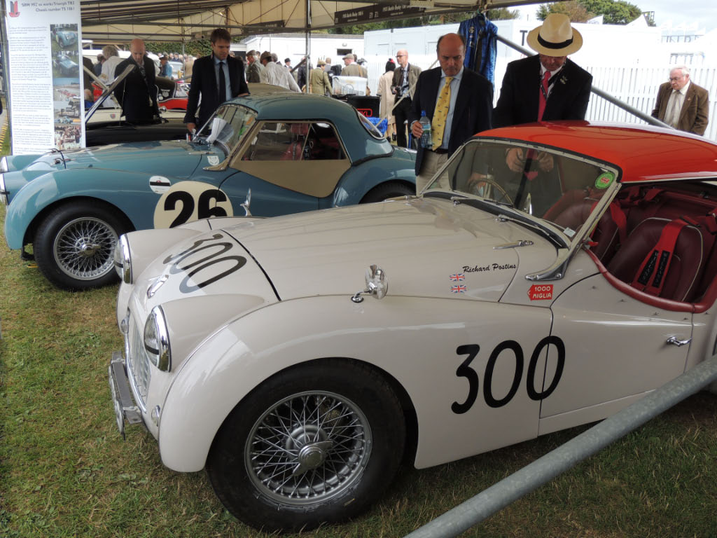2013 International Goodwood Stand Triumph