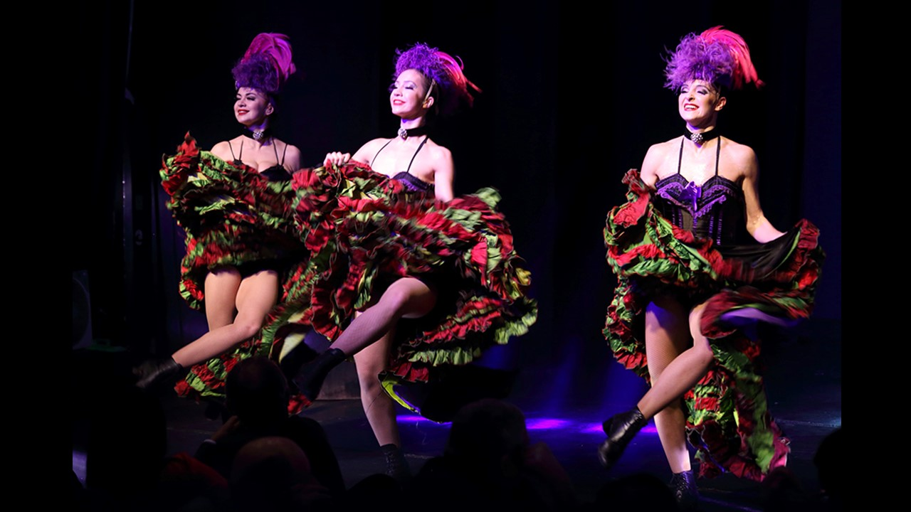 2016 Event Cabaret 4 French Cancan
