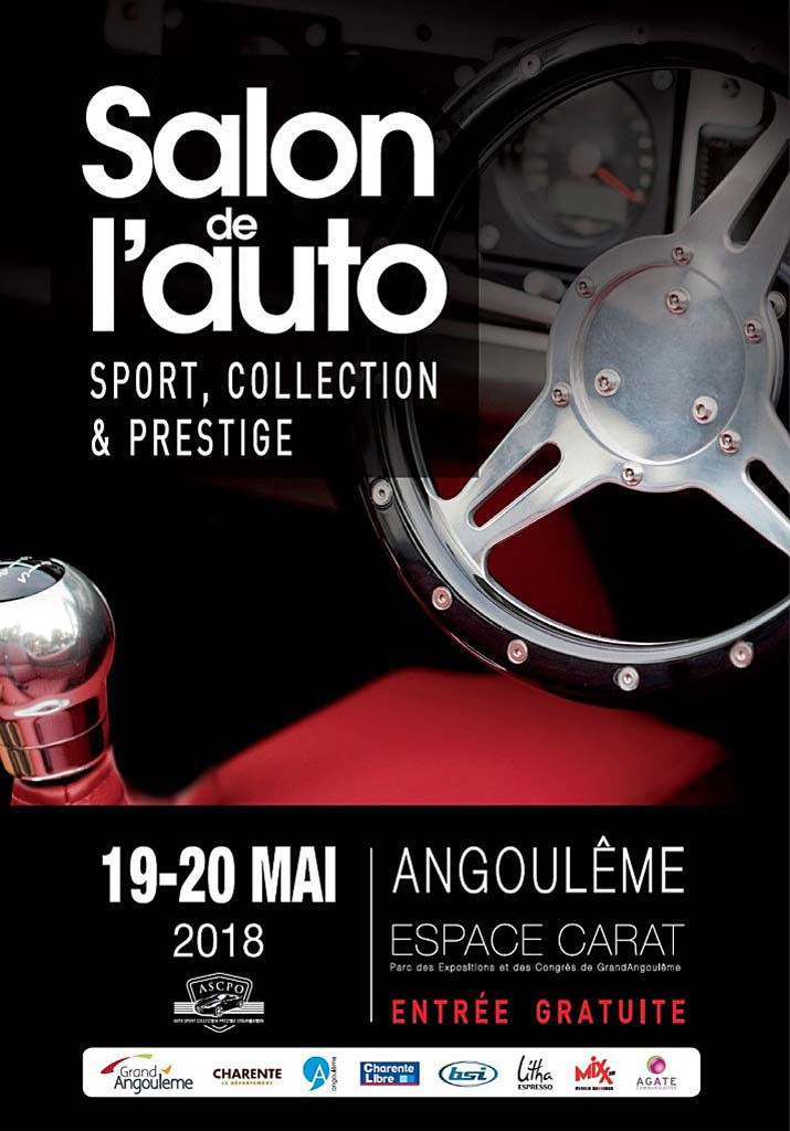 2018 Salons Angouleme Affiche