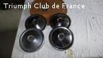 Jantes tôle et Enjoliveurs Triumph Spitfire