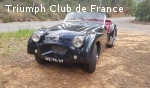 Triumph TR2 long door 1953